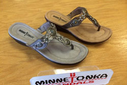 Minnetonka Leather Sandals